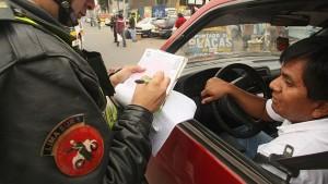 Ministerio de Transportes y Comunicaciones aprueba nuevos formatos de papeletas