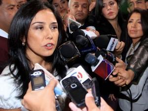 Poder Judicial declaró inadmisible acción de amparo de Nadine Heredia contra comisión Belaunde Lossio.
