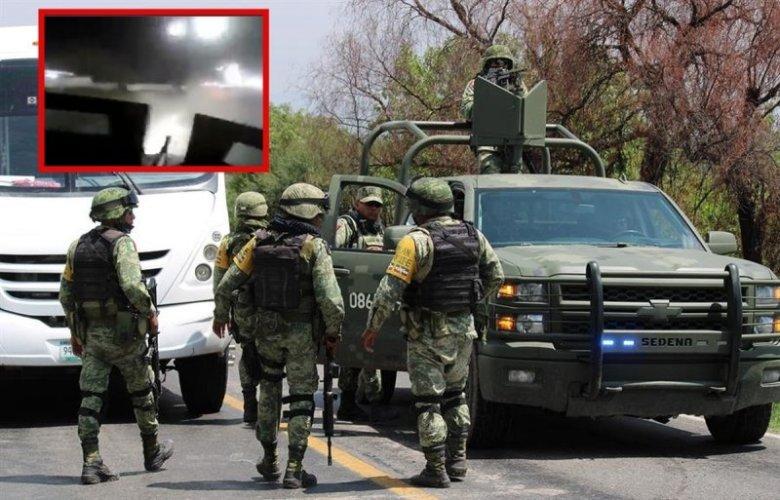 Difunden ESCALOFRIANTE video del enfrentamiento entre Ejército y ...
