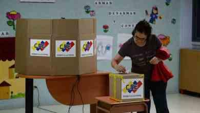 Votacion venezuela