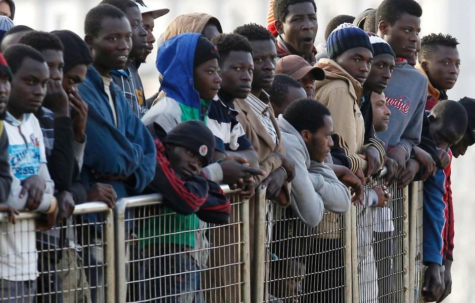 Image result for caravana migrante de africanos
