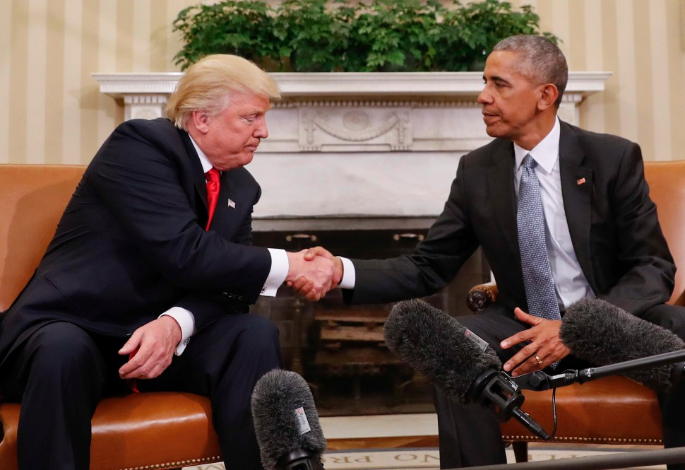 La noche que Obama humilló a Trump