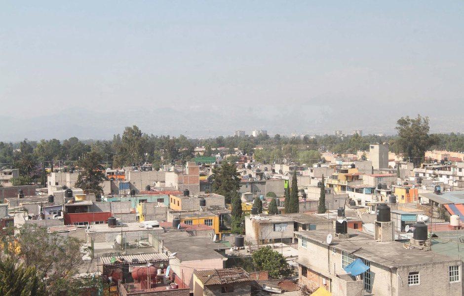 Panorámica del Valle de México; prevén una temperatura de 28 grados centígrados. (Notimex)