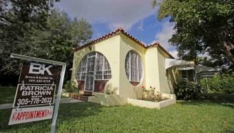 Los contratos para comprar casas usadas en Estados Unidos repuntaron en diciembre tras una caída el mes previo (AP)