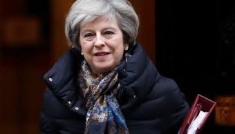 La primera ministra británica, Theresa May (AP)