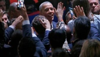 Barack Obama en su último discurso (AP)