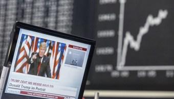 Pizarra de la Bolsa de Frankfurt (Getty Images)