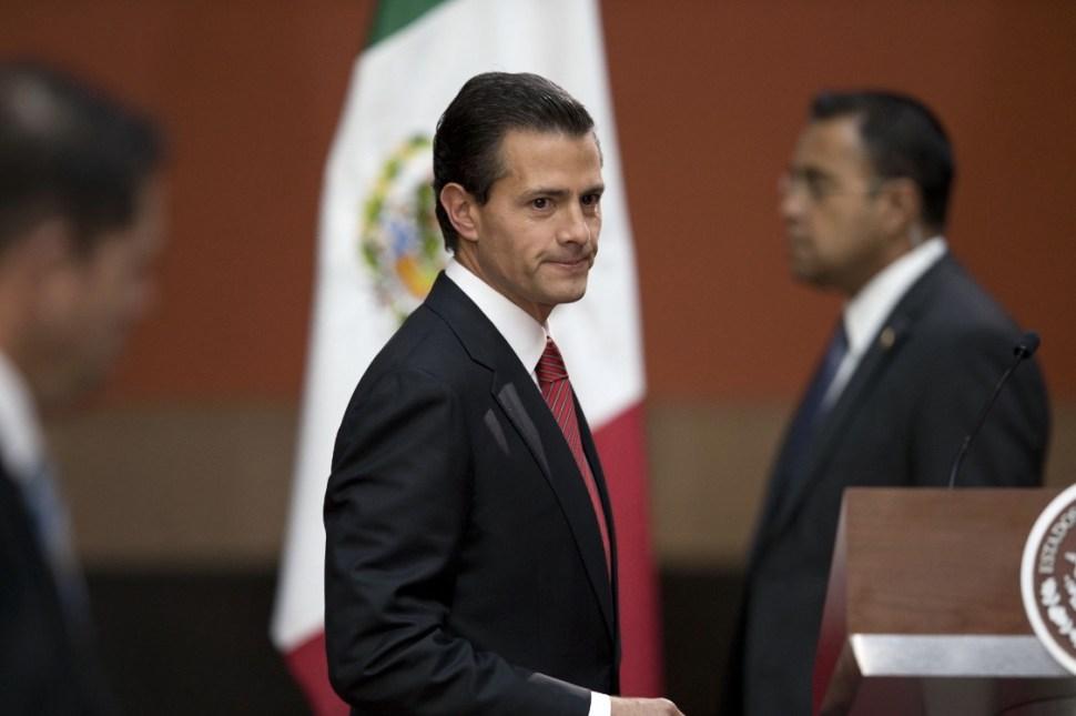 """El presidente Enrique Peña Nieto se encontraba en una visita en Francia durante el escape de """"El Chapo"""" Guzmán."""