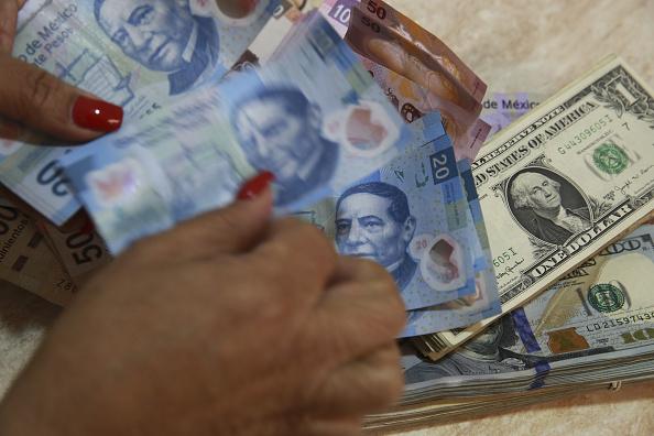 Cotización del peso frente al dólar (Getty Images)