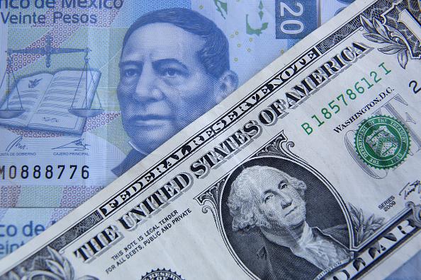 El dólar se vende hasta en 22.29 pesos (Getty Images)