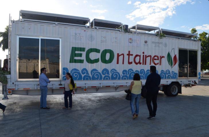 Administración Portuaria habilita contenedor marítimo educativo en Campeche