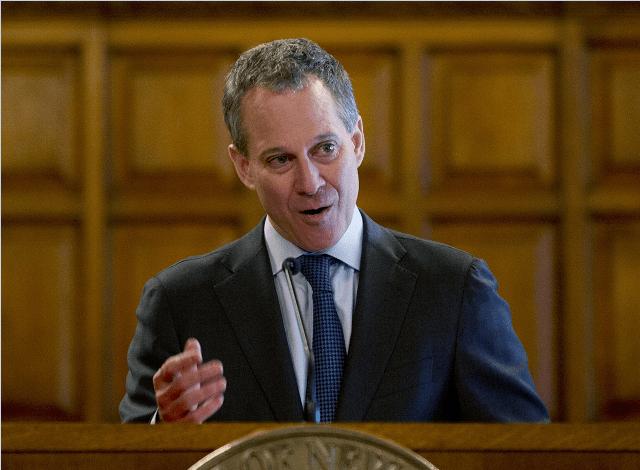 Eric Schneiderman, procurador general de Nueva York.