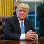 El presidente de Estados Unidos, Donald Trump, celebró en Twitter la llegada del índice bursátil Dow Jones a los 20 mil puntos (Getty Images)