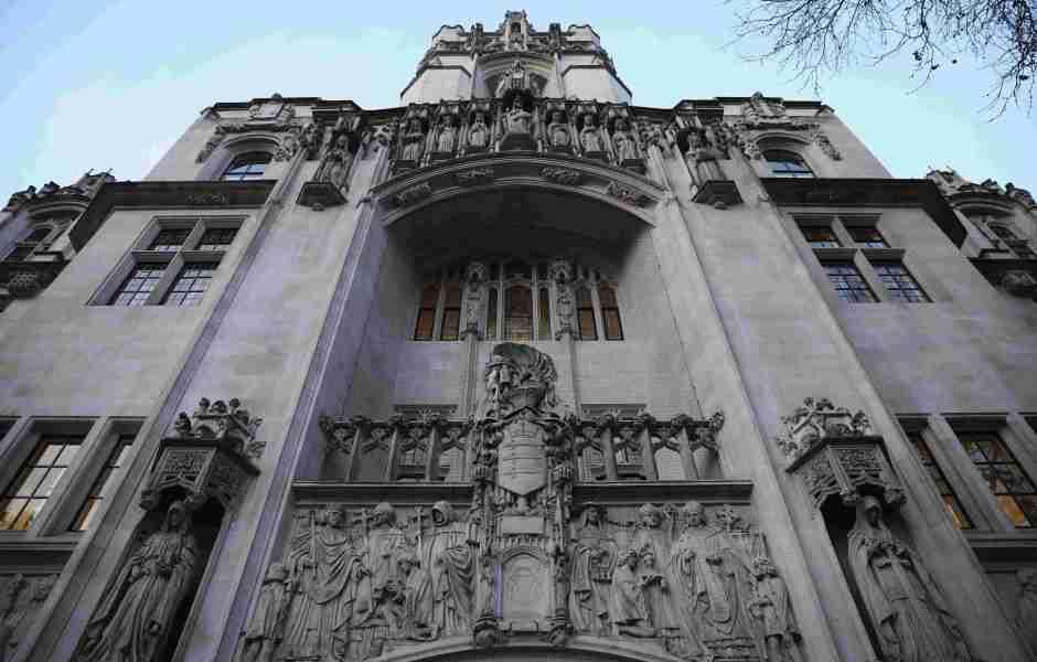 Vista general de la Suprema Corte de Londres, en donde el Parlamento analizará el proyecto del artículo 50 para iniciar el Brexit (Getty Images)