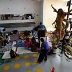 Haitianos varados en México buscan llegar a EU (AP, Archivo)