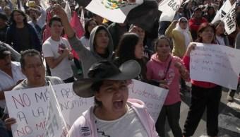 El gobierno federal respeta el ejercicio de la libre manifestación: Renato Sales