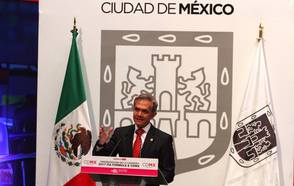 Miguel Ángel Mancera, jefe de Gobierno de la CDMX (Notimex)