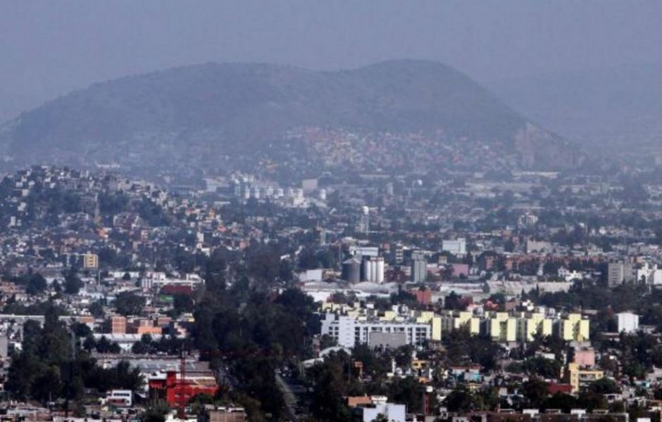 Panoramica del municipio de Ecatepec, Edomex, presenta mala calidad del aire