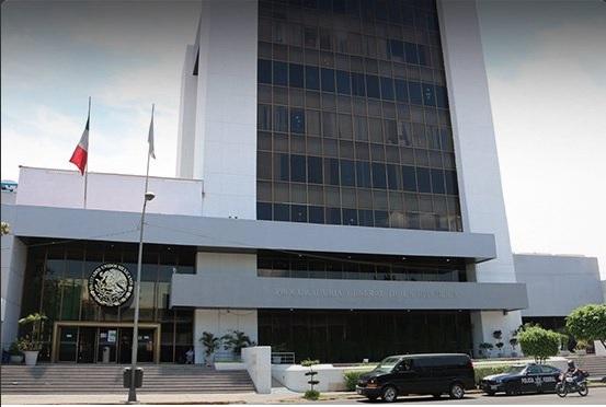 Edificio de la Delegación de la PGR en Jalisco.