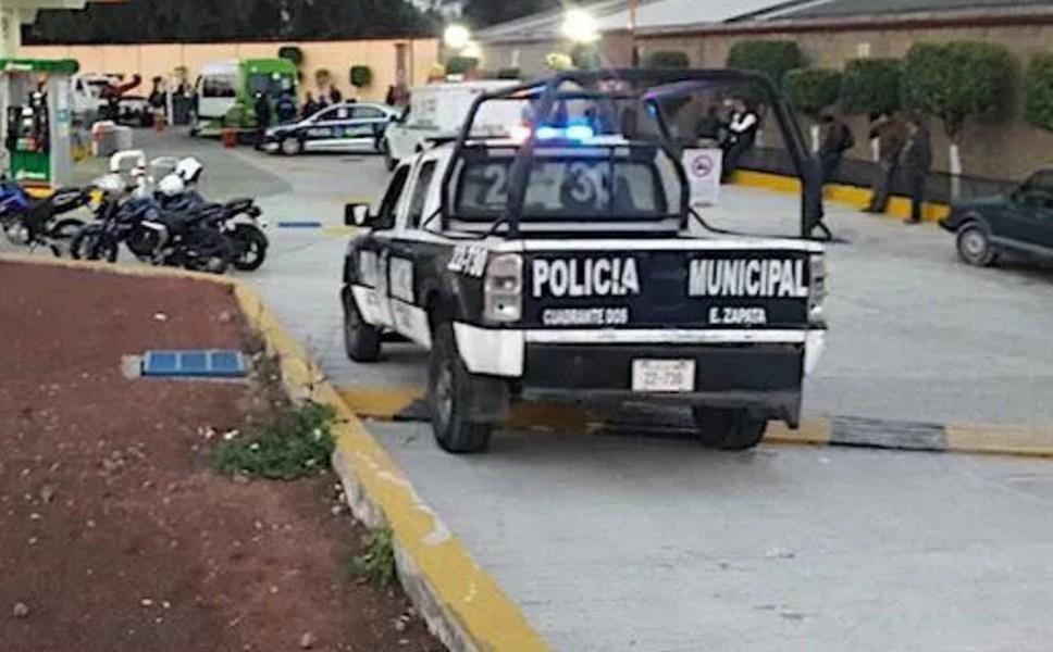 Edomex registra dos mil homicidios; en la imagen, investigan asesinato de policía