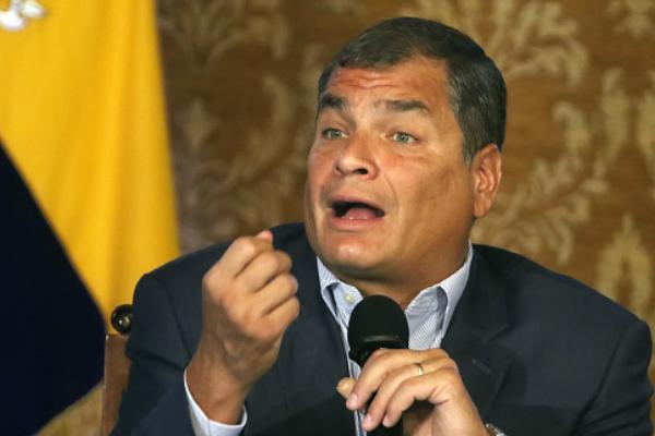 El presidente de Ecuador, Rafael Correa. (Foto Getty Images/Archivo)