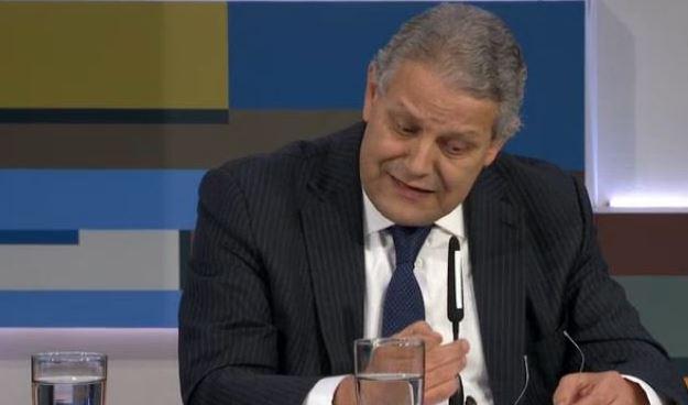 Luis Robles, presidente de la Asociación de Bancos de México. (Noticieros Televisa, Archivo)