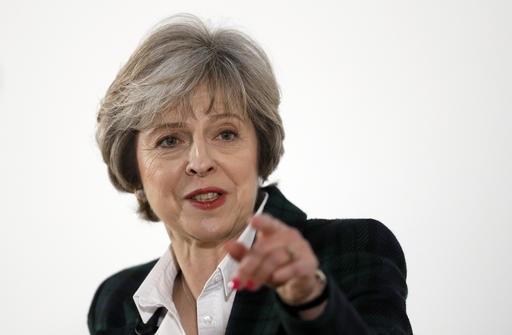 Theresa May, primera ministra de Reino Unido (AP)