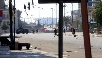 Un total de tres proyectiles de mortero impactaron en la Zona Verde, situada en el centro de Bagdad. (Reuters)