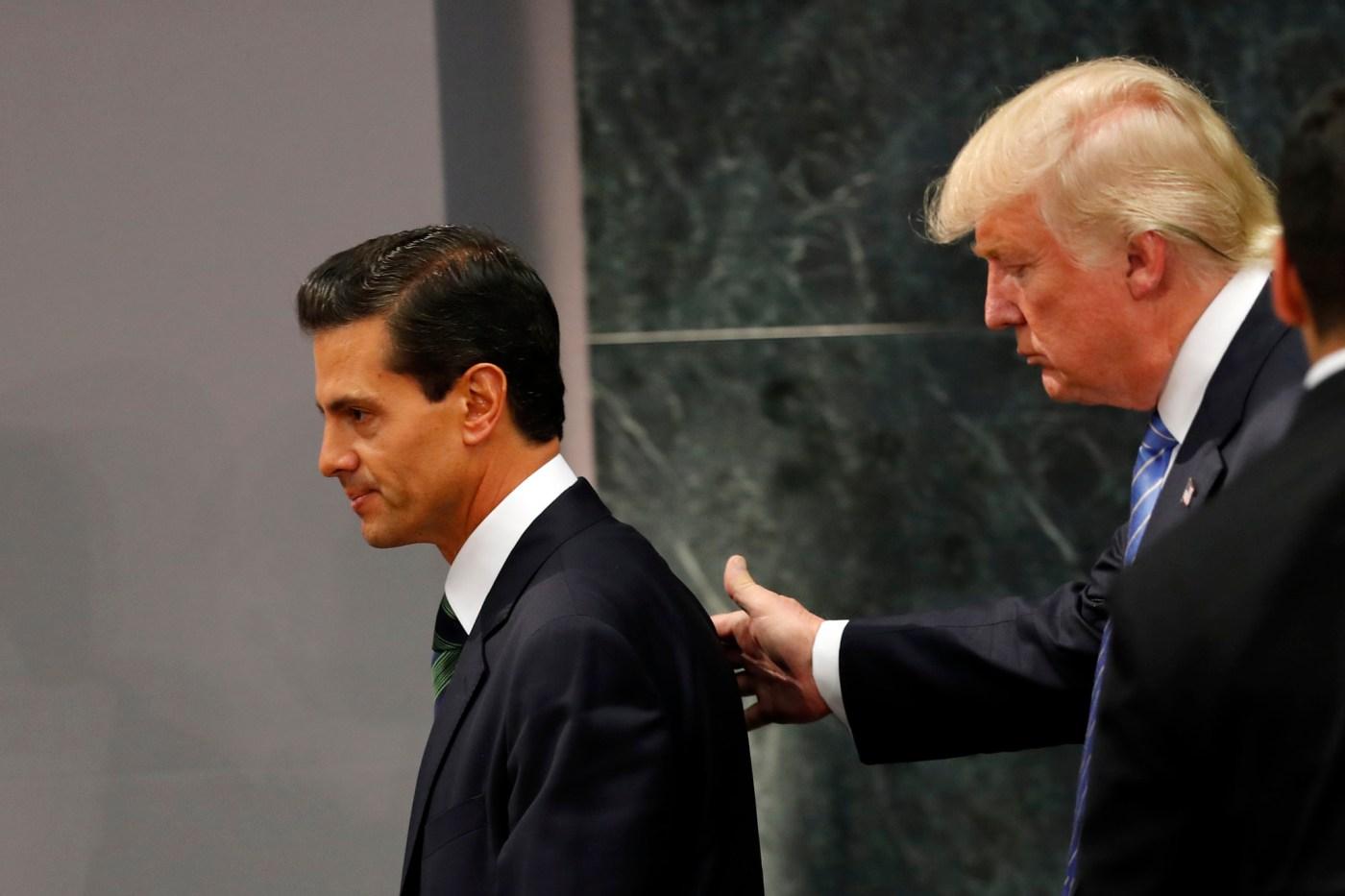 Peña Nieto Trump Ricardo Lagos