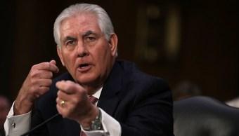 Rex Tillerson, secretario de Estado de EU. (Getty Images, archivo)