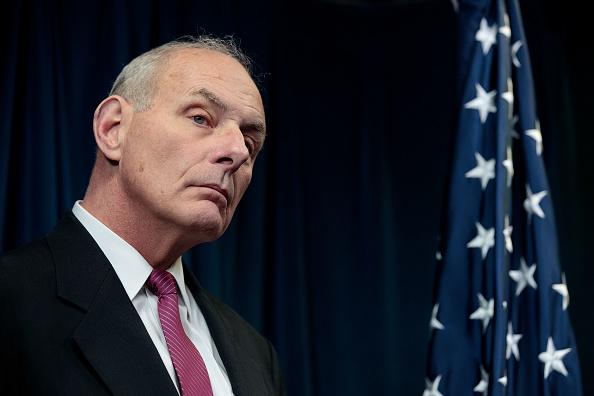 John Kelly, secretario de Seguridad Nacional de EU. (Getty Images, archivo)