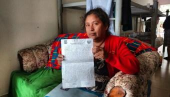 Migrante deportada por las autoridades de Estados Unidos. (Notimex, archivo)
