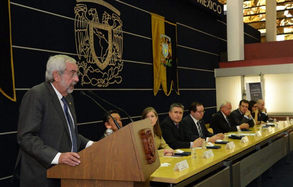 Enrique Graue, rector dela UNAM. (Notimex, archivo)