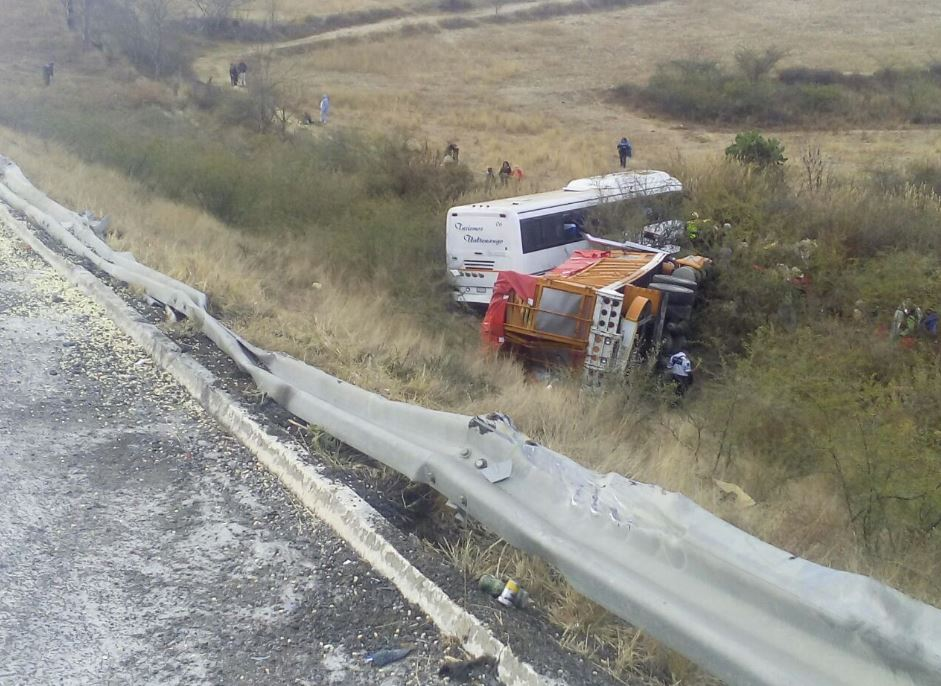 Accidente en carretera de Oaxaca