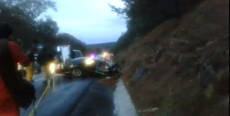 Mueren 7 personas tras accidente en la Autopista Siglo 21, en Michoacán