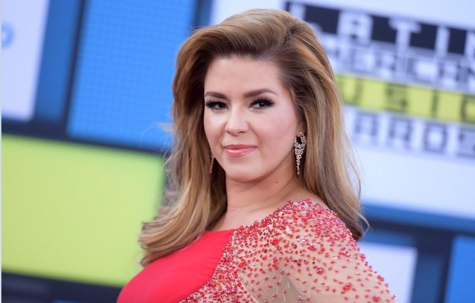 Alicia Machado participa en una entrega de premios musicales; la ex Miss Universo es llamada 'prostituta' por la ministra de Venezuela, María iris Varela