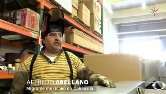 Originario de la Ciudad de México, Alfredo emigró a Estados Unidos con su esposa y sus tres hijas hace 22 años. (Noticieros Televisa)