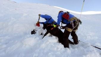 Equipos de rescate tratan de hallar a sobrevivientes de un alud en los Alpes franceses; se han desencadenado trece percances similares desde inicios de año (Twitter @bultenfransa)