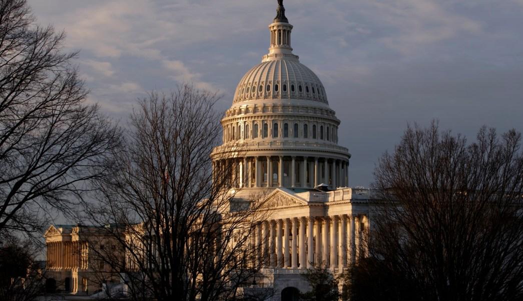 Vista del Capitolio de Estados Unidos (AP)