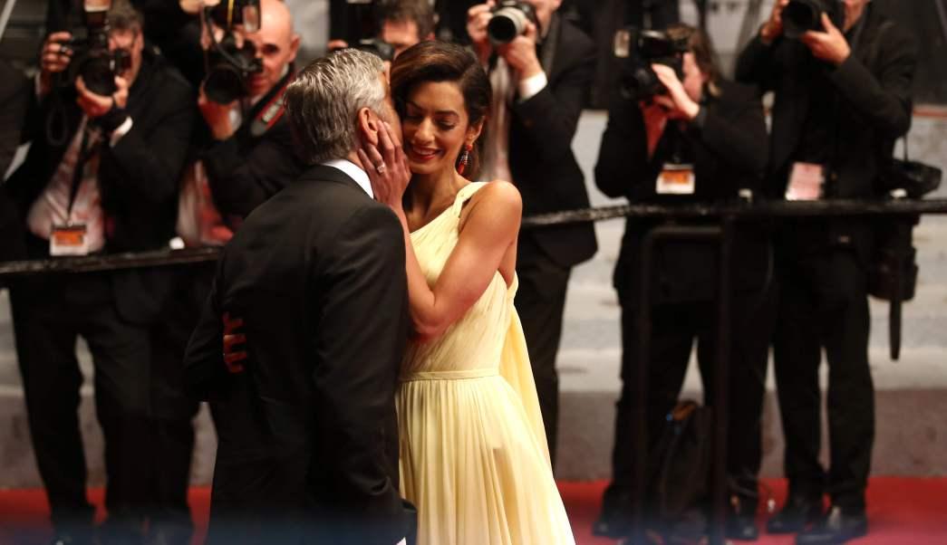 George Clooney Amal Clooney Sorpresa Embarazo