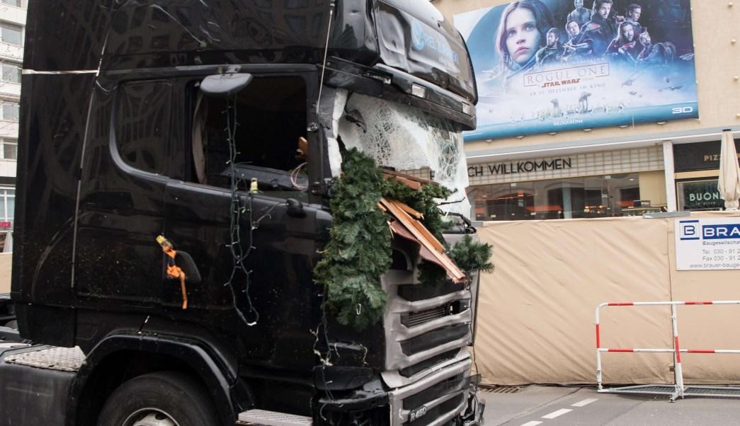 Resultado de imagen de atentado camion berlin