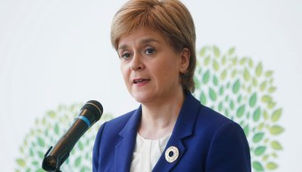 Nicola Sturgeon, Primer Ministro de Escocia y líder del Partido Nacional Escocés (AP)