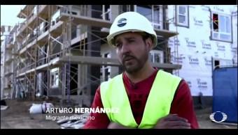 Arturo Hernández, migrante mexicano en Denver. (Noticieros Televisa)