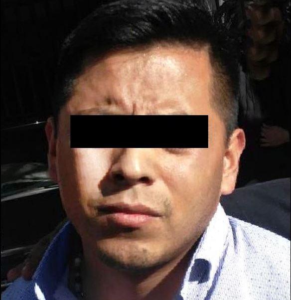El detenido cuenta con un ingreso al Reclusorio Preventivo Varonil Norte en 2009 (Twitter/@PGJDF_CDMX)