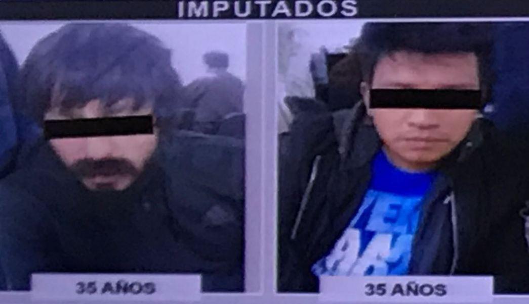Dos presuntos ladrones a casa habitación fueron detenidos en flagrancia en la colonia Chimalistac, delegación Álvaro Obregón . (SSP-CDMX)