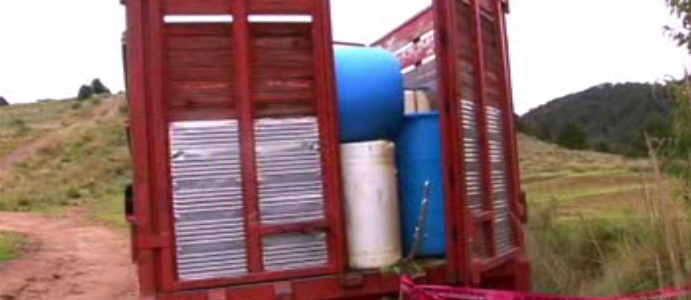 Aseguran en Hidalgo combustible robado. (Noticieros Televisa)