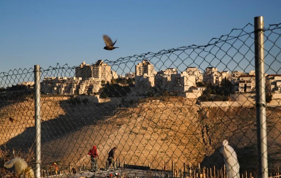 Asentamientos israelíes en propiedad privada palestina (AP)