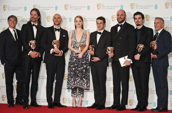 El musical cosechó cinco premios en total y extendió su racha exitosa en la temporada rumbo a los Oscars (GettyImages)