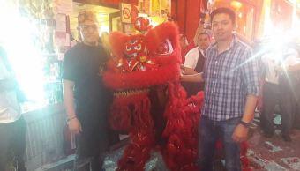 Festividad de los Faroles en el Barrio Chino de la CDMX