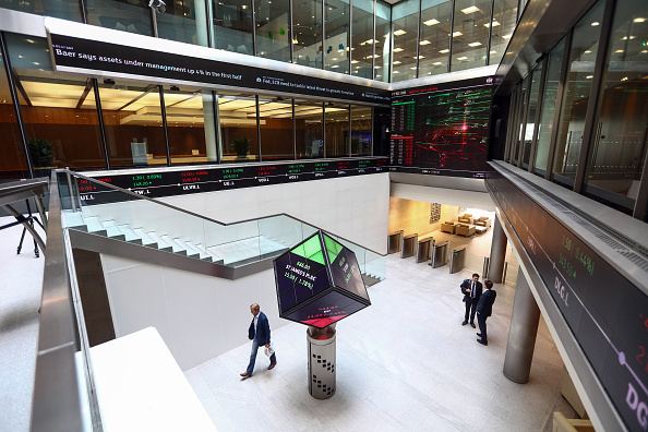 Vista de las oficinas de la London Stock Exchange (Getty Images)
